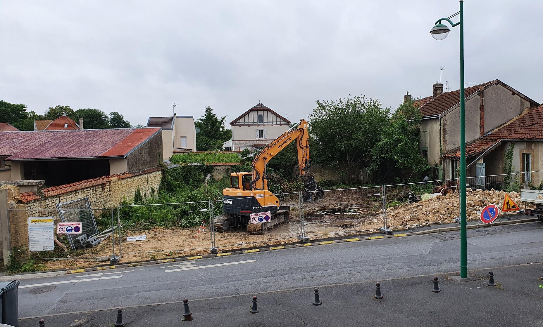 Démarrage des travaux – Les Terrasses Gambetta Cormontreuil